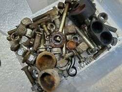 1971 Mercury 650 4 Cyl. Thunderbolt Misc.parts Nuts And Screws Rare Hard To Find
