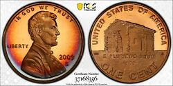 2009-s Lincoln Cent Early Childhood Pcgs Pr68rd Dcam Proof Crescent Toned Mr