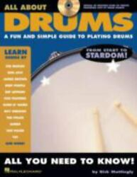 Hal Leonard All About Drums Book/cd Series