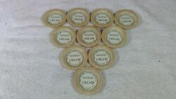 10 Eau Claire County Hospital Wisconsin Bottle Caps Pasteurized Cream Sealright
