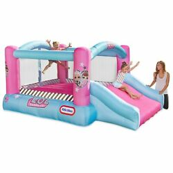 Lol Surprise Inflatable Slide Bounce House Blower Outdoor Backyard Kid Game Play