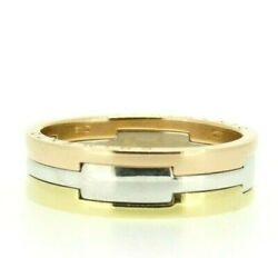 Ring Chimento Used Matching Faith 3 Ori Gold Solid 18kt Reconditioned