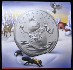 2014 Canada 20 For 20 Snowman - Pure Silver 9999 Coin W/package - Rcm