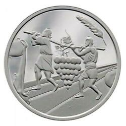 Israel Coin And Medal 2019 Bible Story The Twelve Spies Proof Silver