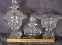 Kgkate American Cut Glass Anglo-irish Glass And Other Glass Finds And Collectibles