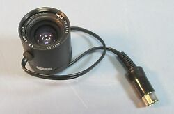 Rca Tv Lens Ex 8mm 11.4 With 8 Pin Plug Used Tc1810d