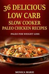 36 Delicious Low Carb Slow Cooker Paleo Chicken Recipes: Paleo Chicken Reci...