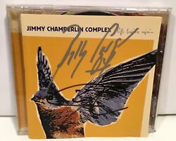Autograph Signed Billy Corgan And Jimmy Chamberlin Complex Life Begins Again Cd