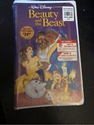 Beauty And The Beast Vhs 1992 Black Diamond Classic Sealed
