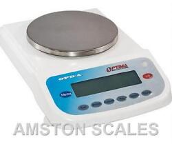 Digital Balance Scale 6100 X 0.01 Gram Ct Ozt Dwt Pharmacy Counting Compounding