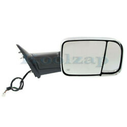 Ram 1500/2500/300 Truck Tow Mirror Power Heated W/signal, Puddle Lamp Right Side
