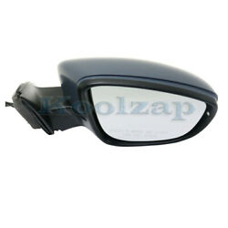 16-18 Passat Rear View Door Mirror Power W/memory And Turn Signal Light Right Side