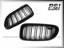 12-14 Bmw F06 F12 F13 Matte Black Front Grille Kit 640i 650i Coupe Convertible