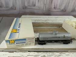 Interstate Dome Tank Car Gray 932-5009 Isox 3150 Fuel Oil Train Car Toy Ho Freig