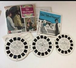 The Mod Squad. 21view-master Stereo Pictures Reel Set.