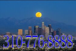 310 Easy Phone Number 310776-8888 La California Best Lucky Number