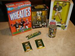 Green Bay Packers Lot Of 7 Collectibles