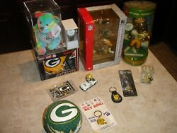 Green Bay Packers Lot Of 12 Collectibles