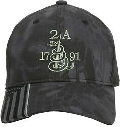 Gun 2A 1791 2nd Amendment  Gift New Embroidered One Size Fits All Baseball Hats $19.99