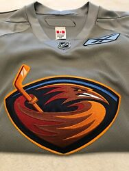 Atlanta Thrashers Authentic Practice Jersey Size 56 New Free Shipping Fight Stra