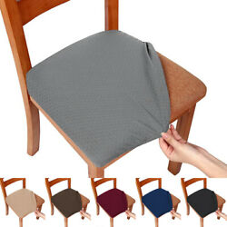 Stretch Dining Room Chair Seat Cover Slipcover Wedding Decor Washable Removable