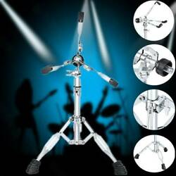 14and039and039 Snare Drum Stand Triangle Bracket Double Braced Holder 50-75cm Adjustable