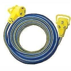 Voltec 16-00508 30amp Ezee Grip 25and039 Extension Cord - Fast Shipping