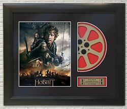 The Hobbit Battle Of The Five Armies Framed Reproduction Poster Reel Display