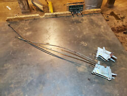 1956 1955 Packard 400 Caribbean Heater Defrost Controls Cable Free U.s. Shipping