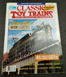 Classic Toy Trains For The Collector Magazine - December 1992- Model Railroader