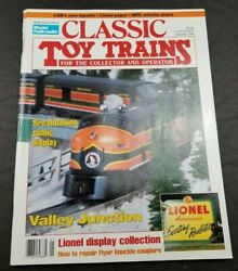 Classic Toy Trains For The Collector Magazine - January 1993 - Model Railroader