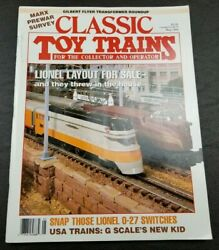 Classic Toy Trains For The Collector Magazine - May 1993 - Model Railroader