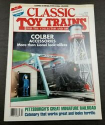 Classic Toy Trains For The Collector Magazine - July 1993 - Model Railroader