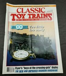 Classic Toy Trains For The Collector Magazine - September 1993-model Railroader