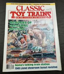Classic Toy Trains For The Collector Magazine - November 1993 -model Railroader