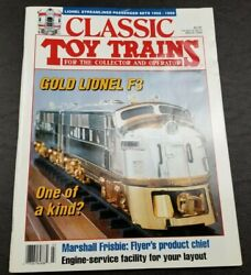 Classic Toy Trains For The Collector Magazine - March 1994 - Model Railroader