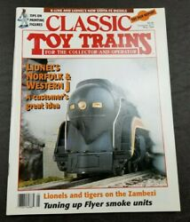 Classic Toy Trains For The Collector Magazine - May 1994 - Model Railroader