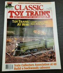 Classic Toy Trains For The Collector Magazine - July 1994 - Model Railroader