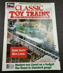 Classic Toy Trains For The Collector Magazine -september 1994- Model Railroader