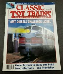 Classic Toy Trains For The Collector Magazine - November 1994- Model Railroader