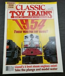 Classic Toy Trains For The Collector Magazine - January 1995 - Model Railroader