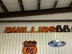 Classic Phillips 66 Sign Letters