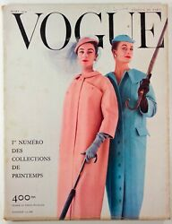 Jacques Fath Coty Tom Keogh Patterns Collections Paris Vogue March 1954