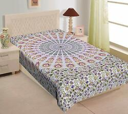 Bohemian Tapestry Indian Decor Mandala Hippie Poster Bedspread Throw WallHanging