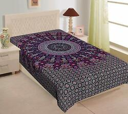 Bohemian Tapestry Indian Decor Mandala Poster Bedspread Hippie Throw WallHanging