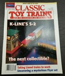 Classic Toy Trains For The Collector Magazine - May 1995 - Model Railroader