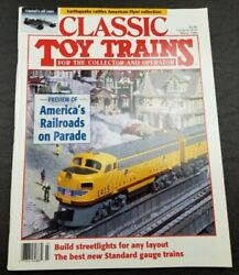 Classic Toy Trains For The Collector Magazine - March 1995 - Model Railroader