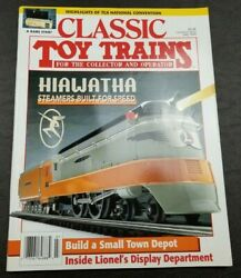 Classic Toy Trains For The Collector Magazine - July 1995 - Model Railroader