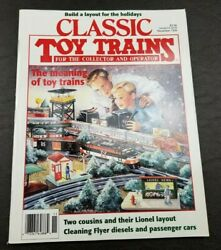 Classic Toy Trains For The Collector Magazine - November 1995- Model Railroader