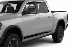 Side Stripe For Dodge Ram 1500 2500 Cover Door Graphic Top Chrome Hitch 2015 Bar